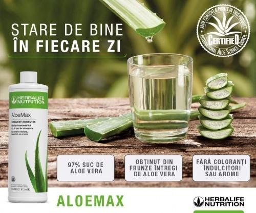 Herbalife Aloe Max, 97% suc de aloe